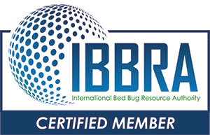 Certified Member of International Bed Bug Resource Authority